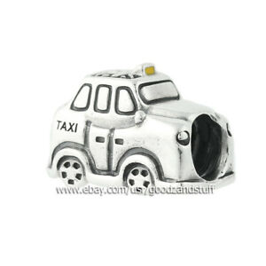 Taxi  Authentic Pandora Sterling Silver Yellow Enamel Charm 791221EN20