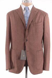 Boglioli NWT K. Jacket / Sport Coat Sz 44R Rusty Salmon Cashmere Blend $1,595