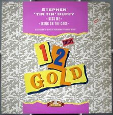 STEPHEN 'TIN TIN' DUFFY Kiss Me 2tr UK 12 inch Icing On The Cake 1989 Old Gold