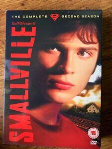 Smallville Season 2 DVD Box Set DC Universe Superman TV Series