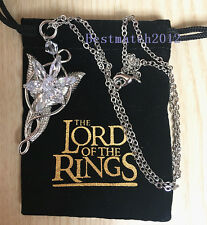 The Lord of the Rings Arwen Evenstar Zircon Pendant Necklace Women's Gift