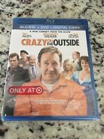 Crazy on the Outside (Blu-Ray +DVD) Brand new! Tim Allen | Sigourney Weaver