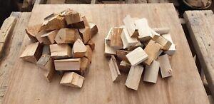 Big box mixed 6kg different woods BBQ smoker wood chunks Alder and Birch