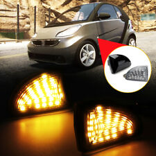 2pcs LED Wing Side Indicators Repeaters Turn signal Light For Smart Fortwo W451