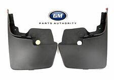 2015-2017 Colorado Canyon Front Molded Splash Guards 22958431 Black  OEM GM