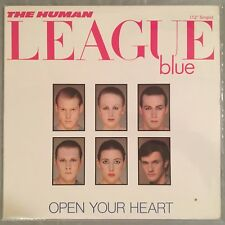 "HUMAN LEAGUE - Open Your Heart - 12"" Single (Vinyl LP) Canadian import VSX1145"
