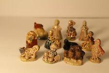 12 pc lot of Vintage Wade Red Rose Tea Nursery Rhyme figurines