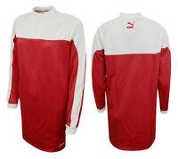 Puma Womens Turtleneck Pullover Crew Sweat Jumper Dress Red 573519 10 M7