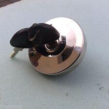 Mini Locking Stainless Steel  Fuel Cap Inc 2 Keys.BD8-D3/H