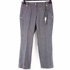 cambio pantalon 36 gris laine 7/8 pantalon en laine coupe droite NP 159 NEUF