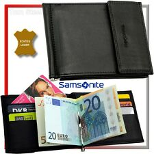 SAMSONITE EC-Kartenetui Dollarclip Geldschein Klammer Clip Etui Case Börse Neu