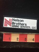 NELSON BROTHERS MINING SERVICES LLC Advertising Patch 78F2