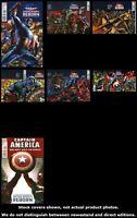 Reborn Captain America (Marvel) 1 2 3 4 5 6 1 Complete Set Run Lot 1-1 VF/NM