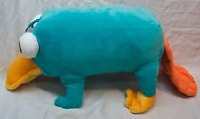 """Disney Parks Phineas and Ferb PERRY THE PLATYPUS 12"""" Plush STUFFED ANIMAL Toy"""