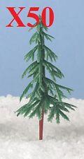 Christmas Cake Decorations 50 x trees / trees christmas tree / yule log