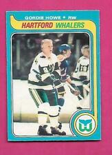 1979-80 OPC  # 175 WHALERS GORDIE HOWE LAST EX-MT CARD  (INV# D1773)