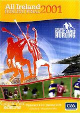 2001 GAA All Ireland Hurling Final:  Tipperary v Galway  DVD