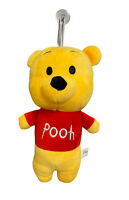 Disney Sega Winnie the Pooh Bear Soft Plush Animal Doll Suction Cup Hanging Toy