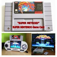 Super Nintendo Super Metroid Video Game SFC/SNES Cartridge Card US Version NTSC