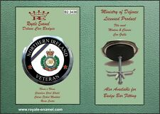 Royale Car Grill Badge - ROYAL ENGINEERS NORTHERN IRELAND VETERAN - B2.3436