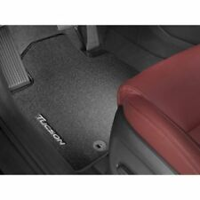 Genuine Hyundai New Tucson Black Floor Mats Velour  2015 Onwards  D7143ADE10