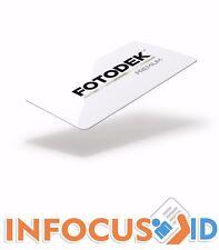 Fotodek® Premium Gloss Blank PVC ICE CR80 ID Cards Pack of 500