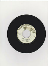 """CORNELL CAMPBELL OLD FASHiON WAY / ANSEL COLLINS DiFFERENT FASHiON 7"""" 45 REGGAE"""