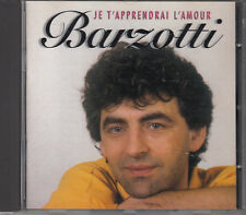 CD ALBUM CLAUDE BARZOTTI / JE T'APPRENDRAI L'AMOUR