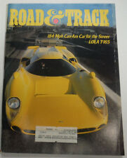 Road & Track Magazine Can-Am Car For Lola T-165 April 1984 072415R