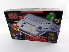 Super Nintendo Entertainment System Control Control Deck Brand New *Read Desc*
