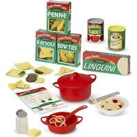 Melissa & Doug 50+ Piece Prepare & Serve Pasta Pretend Play Set, Ages 3-18 Years