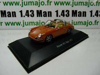 POR12W : voiture 1/43 atlas NOREV PORSCHE : PORSCHE 911 Targa 1973