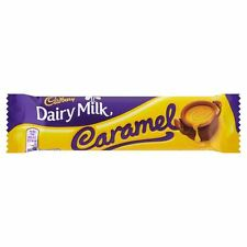 Cadburys Dairy Milk Caramel - 45g - Pack of 12 (45g x 12 Bars) (1.59 oz  x  12)