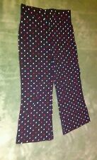 Girls Garanimals 4T Black Pants with Multi-colored Polka Dots