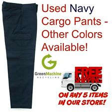 Used Uniform Work Pants Cargo Cintas Redkap Unifirst G&K Dickies and others