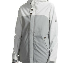 686 Smarty Path Snowboard Jacket (M) Light Grey
