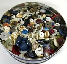 Vintage Mixed Button Lot 2.7 Pounds of Buttons