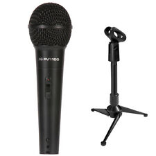 Peavey PV i100 Dynamic Microphone with XLR Cable and Mini Tripod Stand