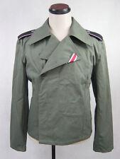 WWII German Elite Panzer HBT Tunic Wrap Jacket