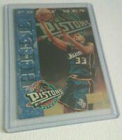 GRANT HILL 1996-1997 NBA SkyBox Premium Detroit Pistons Basketball Card 243 PM