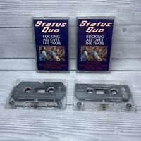 Status Quo ‎– Rocking All Over The Years - 2 x Cassette Tapes -  Chrome - 1990