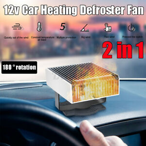 12V Car Auto Heater Fan Vehicle Heating Defroster Demister Warmer Portable  * t