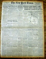 1943 Sunday NY Times newspaper the US Government enacts PAYROLL WITHOLDING TAXES