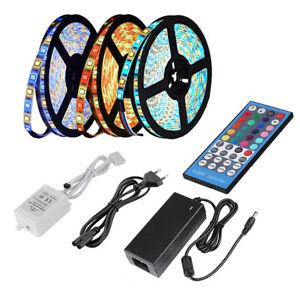 5M 10M Ruban Led RGBW RGBWW LED Multicolores 5050 SMD IP65 Bande Led Décoration