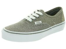 NEW VANS AUTHENTIC GLITTER TEXTILE GY TRUE WHITE SHOES 10 MENS UK 9 EUR 43 28 CM