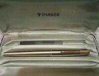 Parker 65  - Rare Double Jeweled Version - BARREL, CAP & PRESENTATION CASE ONLY