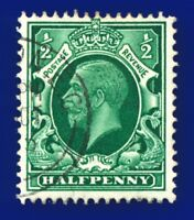 1934 SG439 ½d Green N47(1) Good Used London E.cv  auup