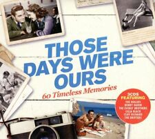 THOSE DAYS WERE OURS Bobby Darin.Nina Simone.Ritchie Valens 3 CD NEUF