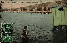 CPA BOULOGNE-sur-MER Retour a la Cabine (405884)