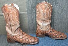 Mens ARIAT Deep Water Western Leather Cowboy Boot sz 9 D